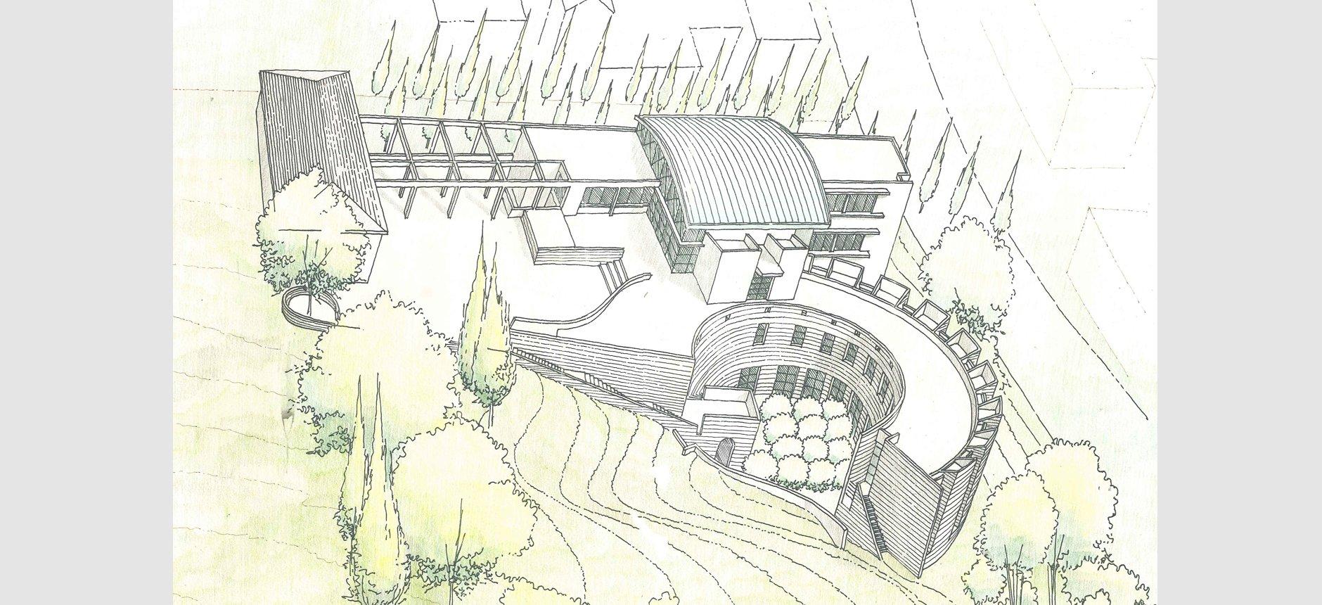 אקדמיה-מכללה-מבנה ציבור-משרדי סגל.