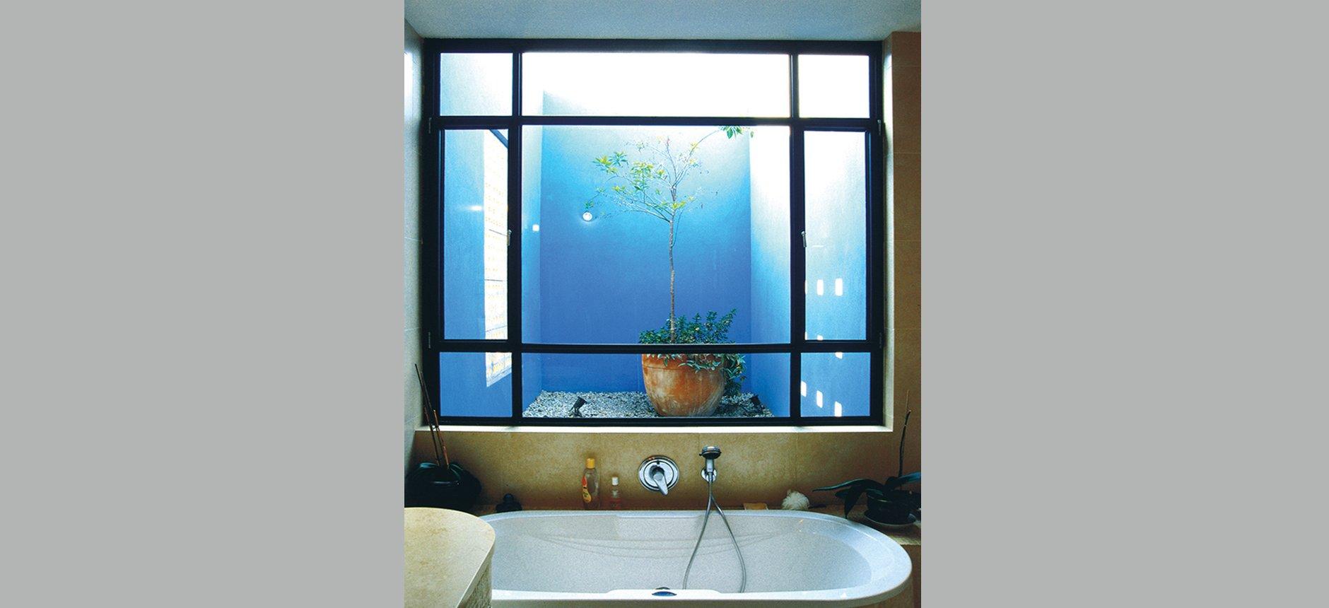 בית הלוי - בניה פרטית - אמבטיה.