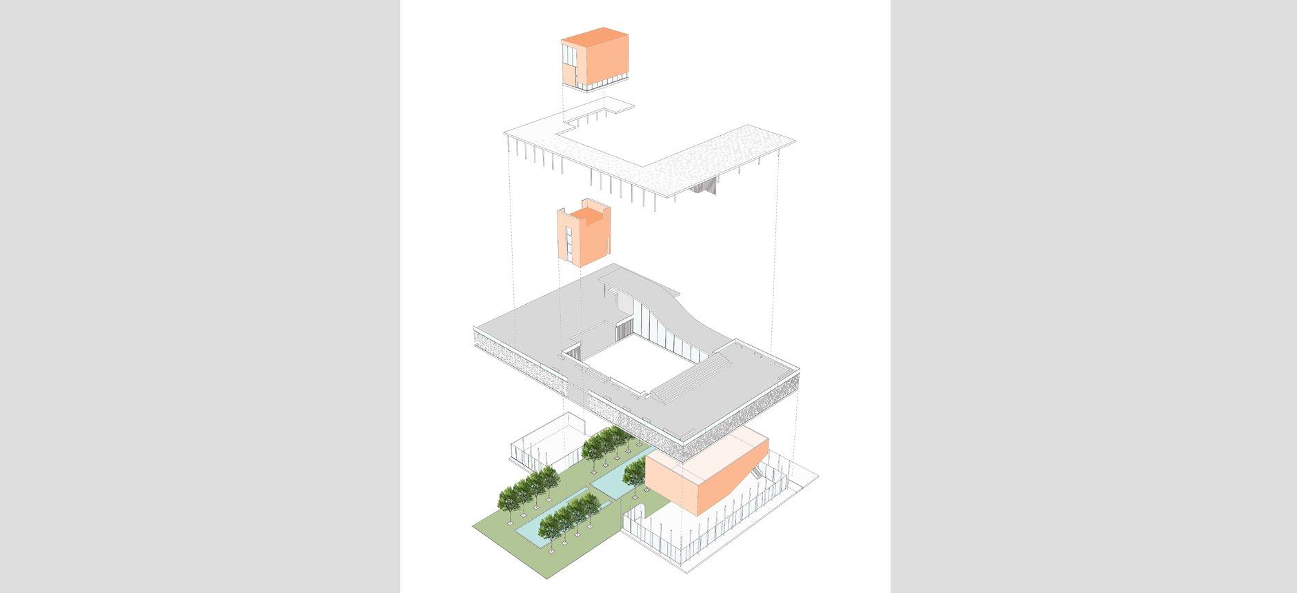 אשדוד-תזמורת- אנדלוסית-סטיו אדריכלים-מבני ציבור-משכן-תרבות