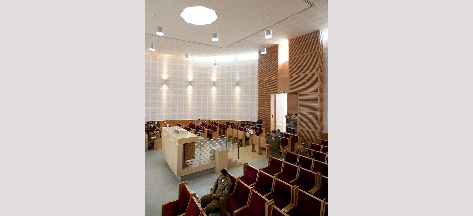 עיצוב אדריכלי לבית כנסת ברעות